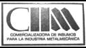 logo de Comercializadora de Insumos para la Industria Metalmecanica