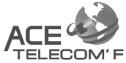 logo de Ace Telecom´F S.A. de C.V.
